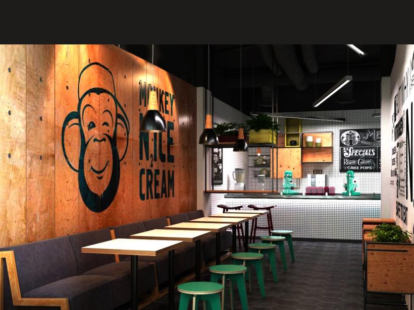 Monkey Nice Cream. Кафе-кондитерская